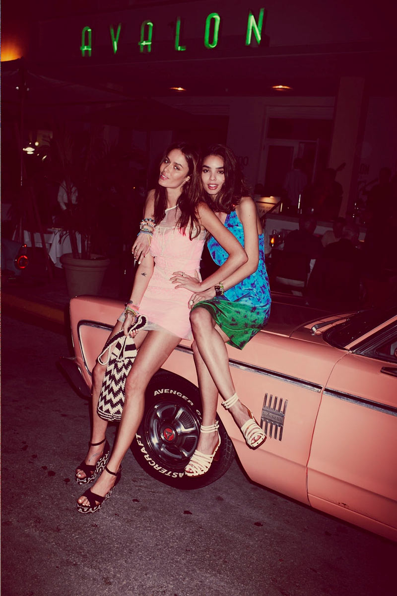 Sabrina Nait & Nicole Trunfio for Free People May 2012 Catalogue