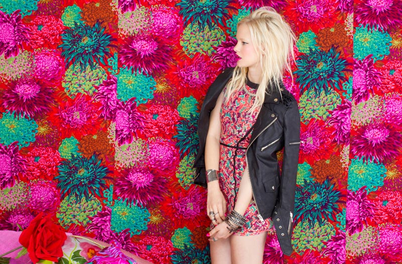 Hannah Holman for Nasty Gal May 2012 Lookbook