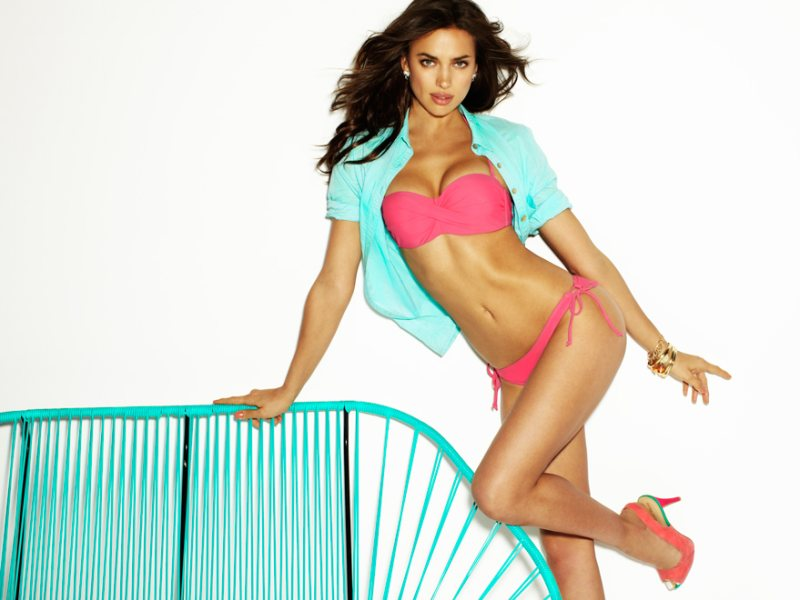 Irina Shayk for Blanco Summer 2012 Campaign