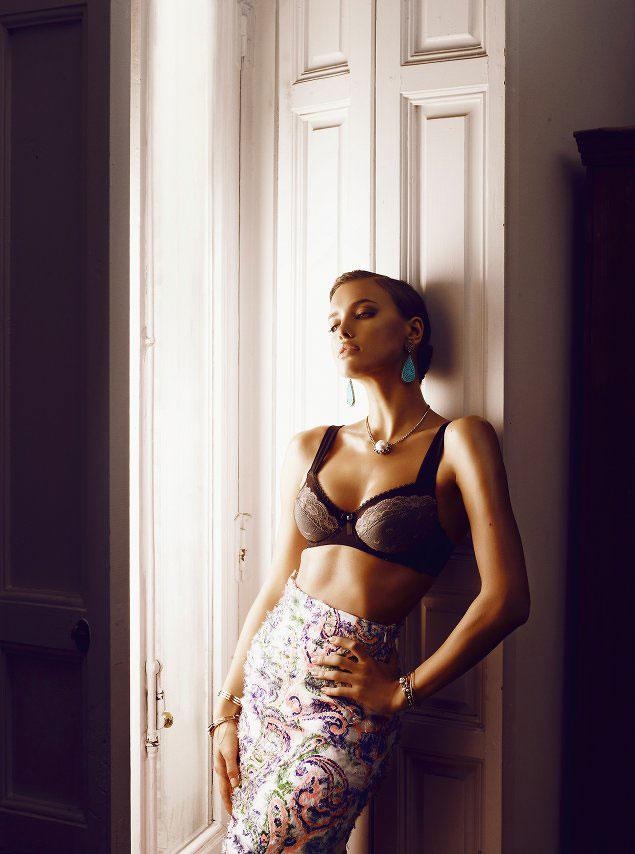 Irina Shayk by Alvaro Beamud Cortes for S Moda May 2012