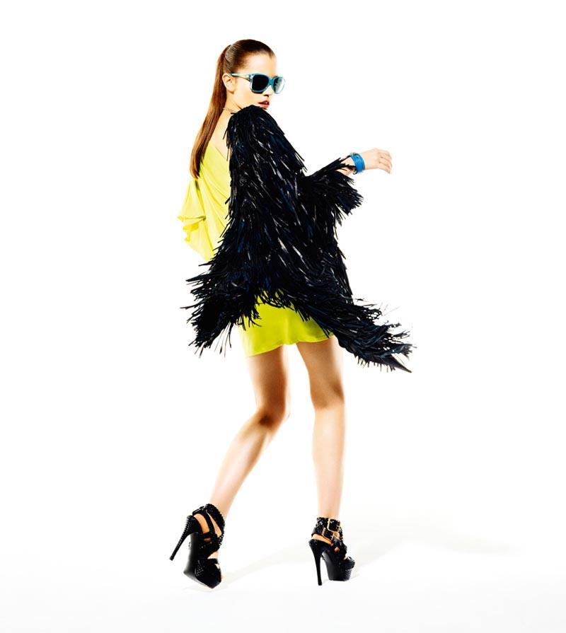Julia Bijoch by Michal Kar & Maciej Piórko for Glamour Poland May 2012