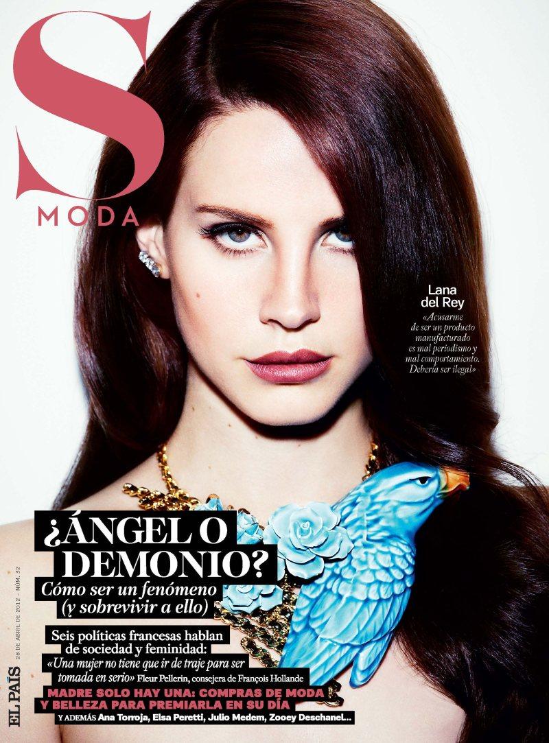 Lana del Rey by Simon Emmett for S Moda April 2012