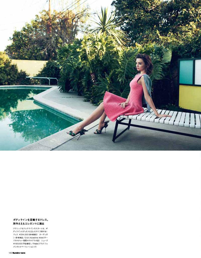 Miranda Kerr by Nino Muñoz for Numéro Tokyo June 2012