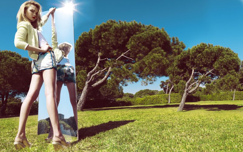 """Siri Tollerod for Stradivarius """"Brighten Me Up"""" Summer 2012 Campaign by Nico"""