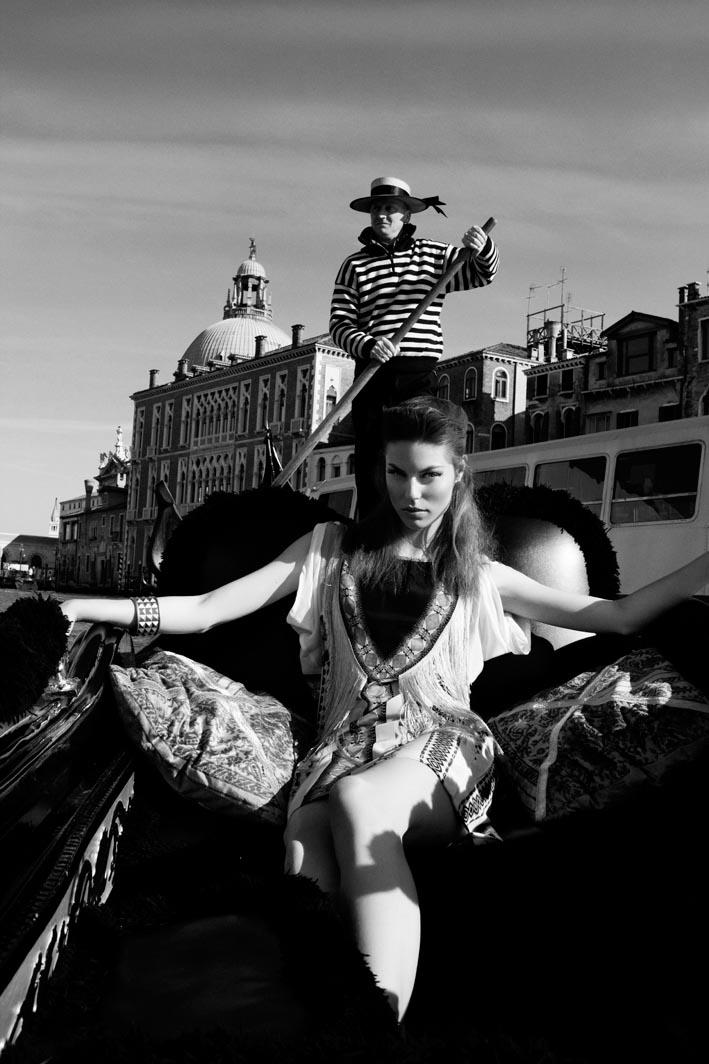 Viktorija by Santiago Ruisenor for Elle Mexico May 2012