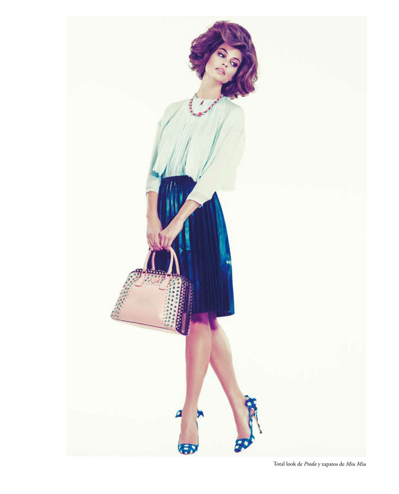 Lauren Auerbach by Andoni & Arantxa for View of the Times S/S 2012