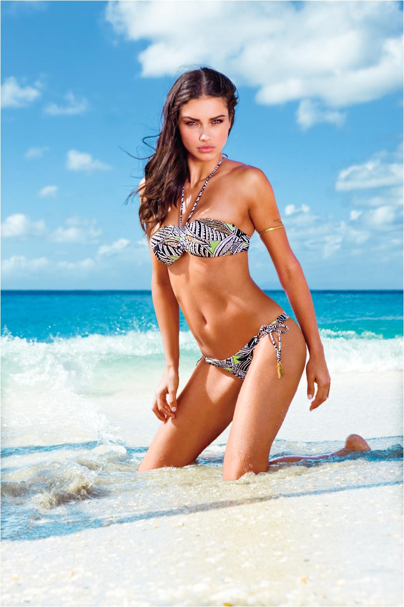 Candice Swanepoel, Adriana Lima & Behati Prinsloo for Victoria's Secret Swim