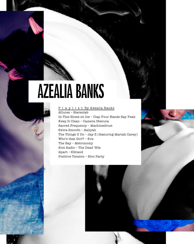 Azealia Banks by Michael Flores for Dossier Journal #9