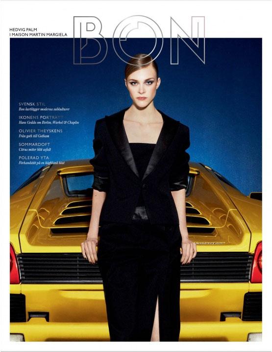 Bon Pre-Fall 2012 Covers | Erjona Ala & Hedvig Palm by Marcus Ohlsson