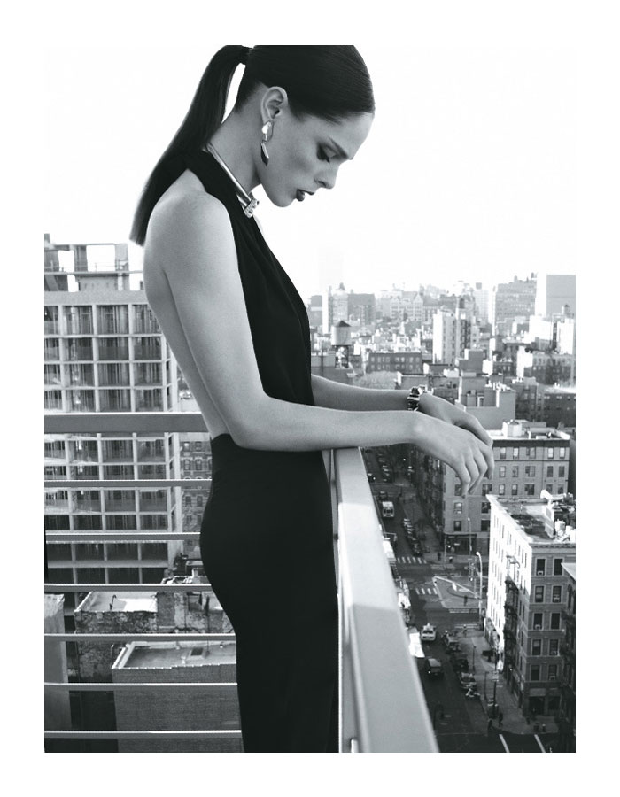 Coco Rocha by Max Abadian for Elle Brazil May 2012