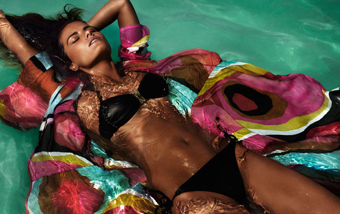 Isabeli Fontana for H&M Beach Sensation Summer 2012 Campaign