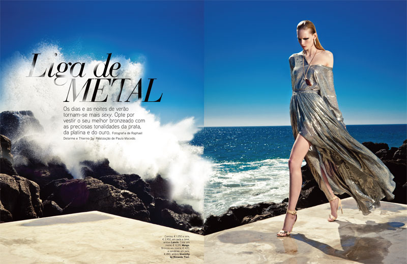 Katrin Thormann by SyDelorme for Vogue Portugal May 2012