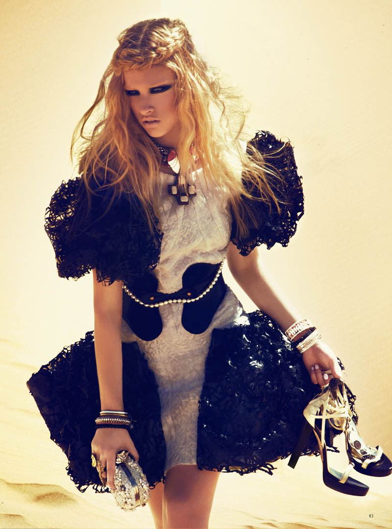 Marcelina Sowa by Kevin Sinclair for Grazia UK June 2012