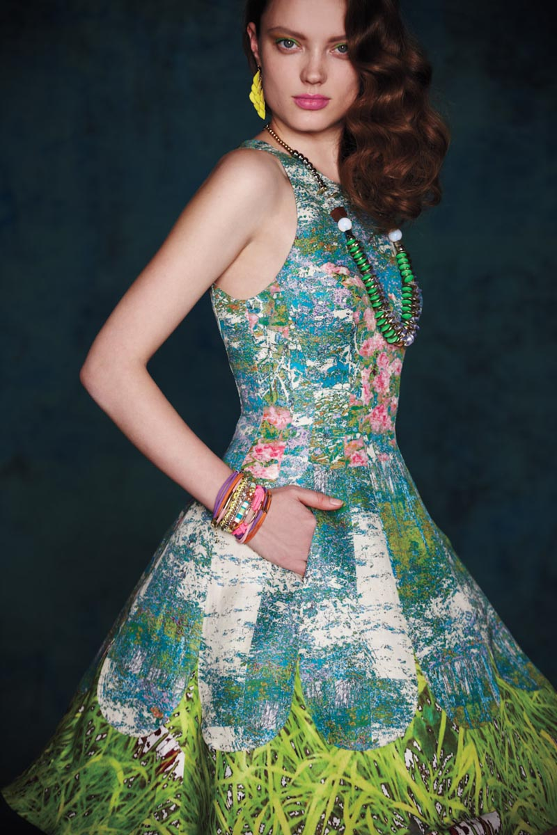 Naty Chabanenko for Anthropologie May 2012 Catalogue by Diego Uchitel