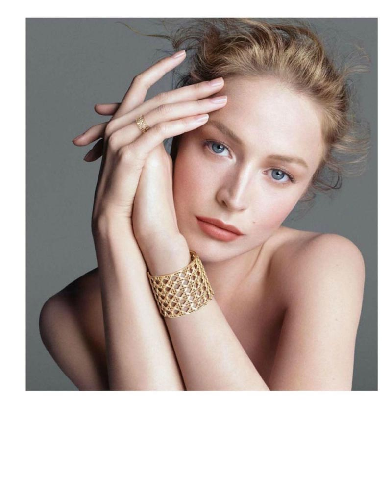 """Raquel Zimmermann for """"My Dior"""" Jewelry 2012 Campaign by Steven Meisel"""