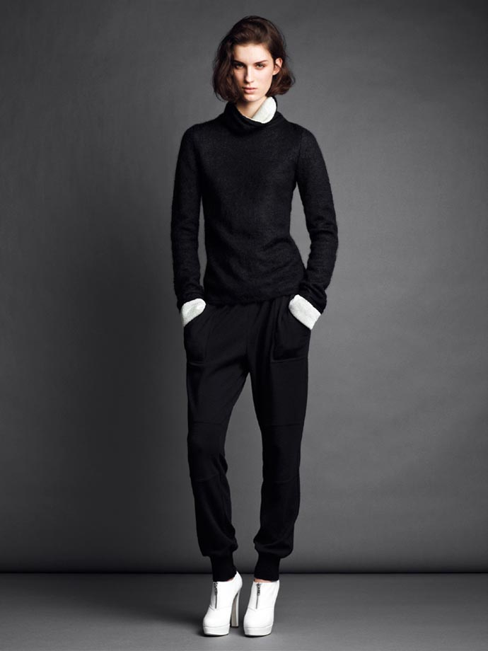 Marte Mei Van Haaster for Strenesse Gabriele Strehle Fall 2012 Collection
