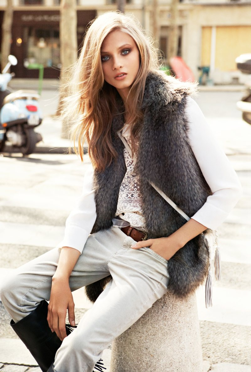 Anna Selezneva for Mango Fall 2012 Catalogue