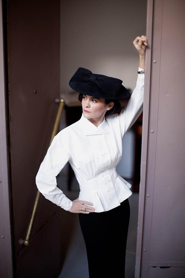 Audrey Tautou by Shayne Laverdière for Marie Claire Russia
