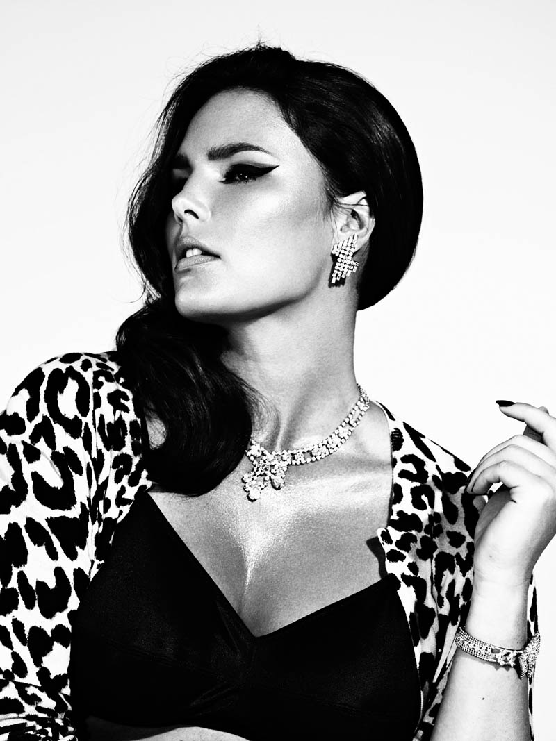 Candice Huffine by Damon Baker for S Moda May 2012