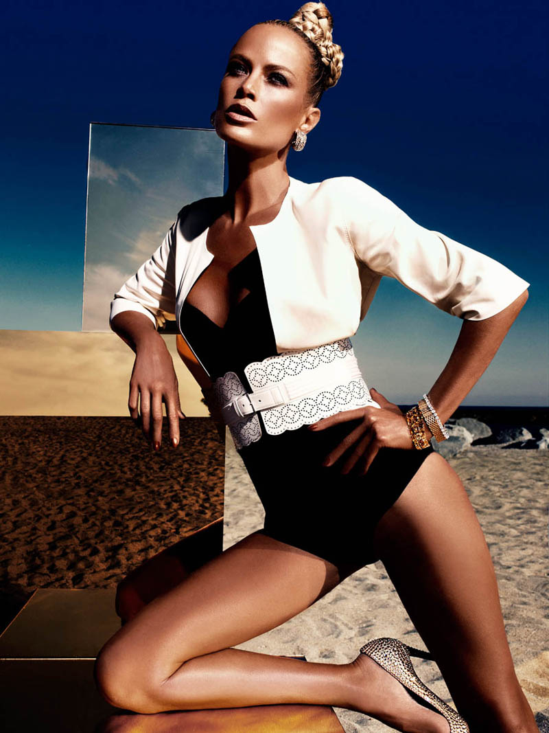 Carolyn Murphy by Alexi Lubomirski for Vogue Germany June 2012