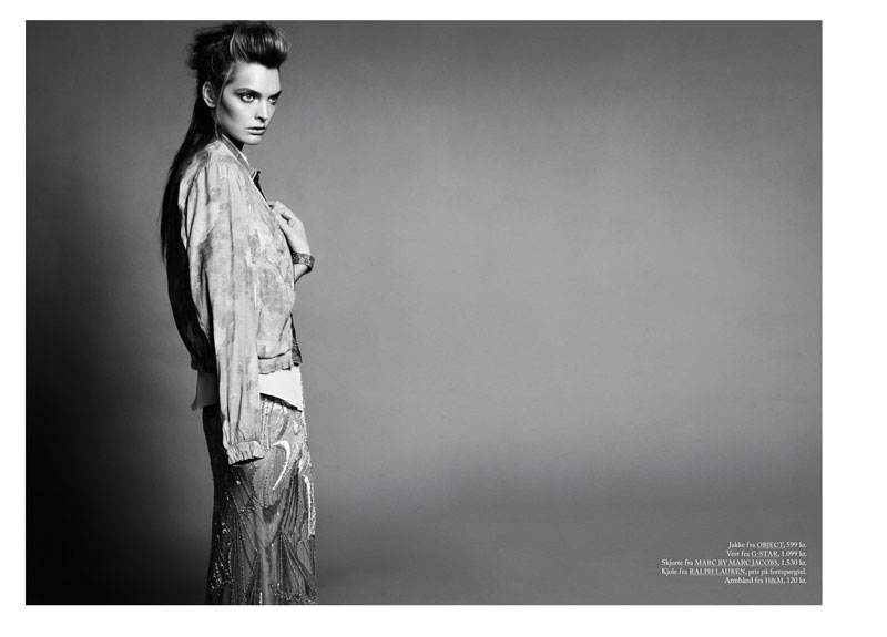 Gertrud Hegelund by Honer Akrawi for Eurowoman June 2012