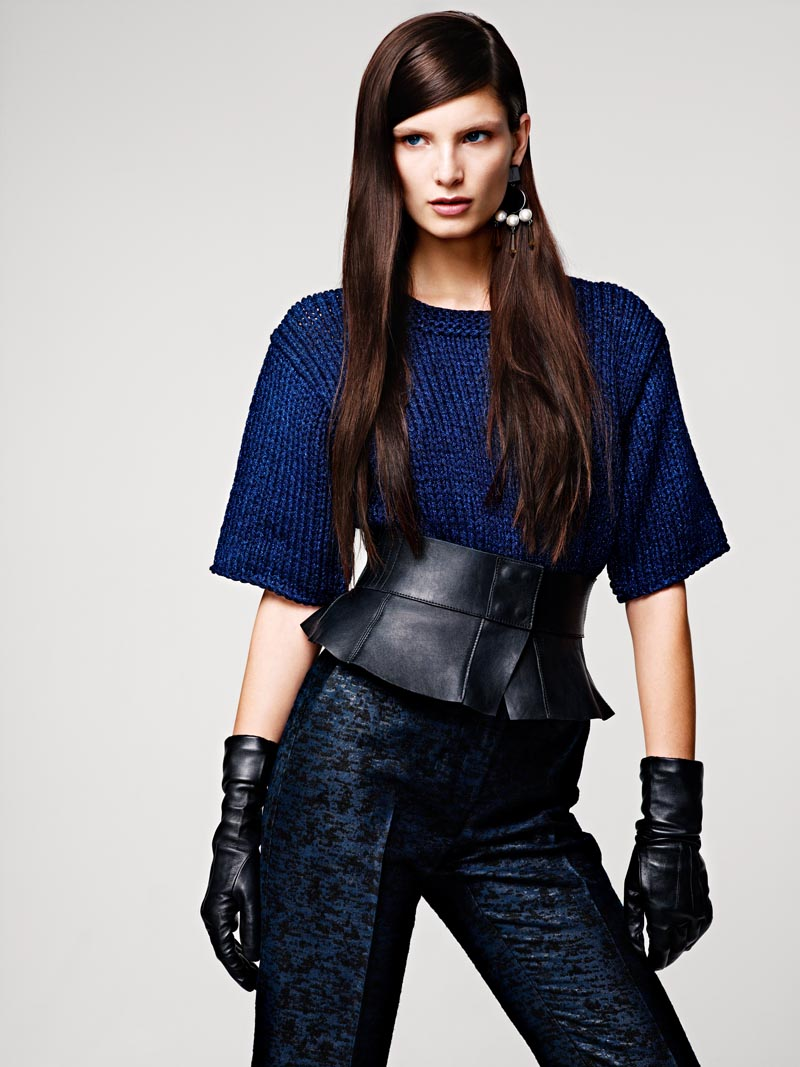 Ava Smith for H&M Fall 2012 Lookbook