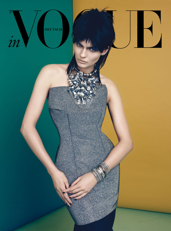 Karolin Wolter by Lado Alexi for Vogue Germany June 2012