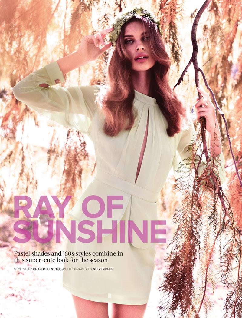 Lise Olsen by Steven Chee for Cosmopolitan Australia June 2012