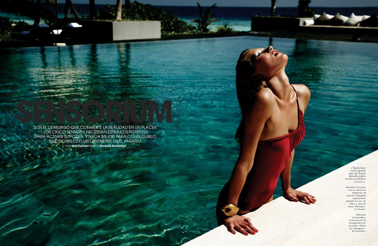 Seiji Fujimori Captures Summer Swimwear for Marie Claire Spain June