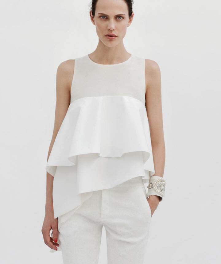 Aymeline Valade Dons Boyish Attire for Zara's June 2012 Lookbook