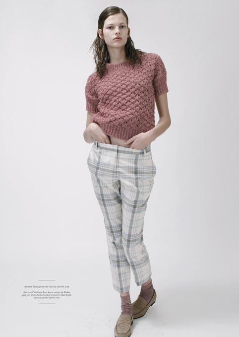Bette Franke Keeps it Casual Chic in Amy Troost's Twin S/S 2012 Shoot