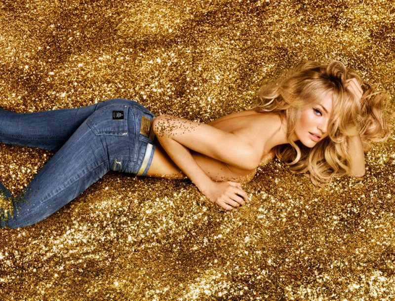 Candice Swanepoel is Golden Sexy for Colcci's Luxury Campaign by Fabio Bartelt