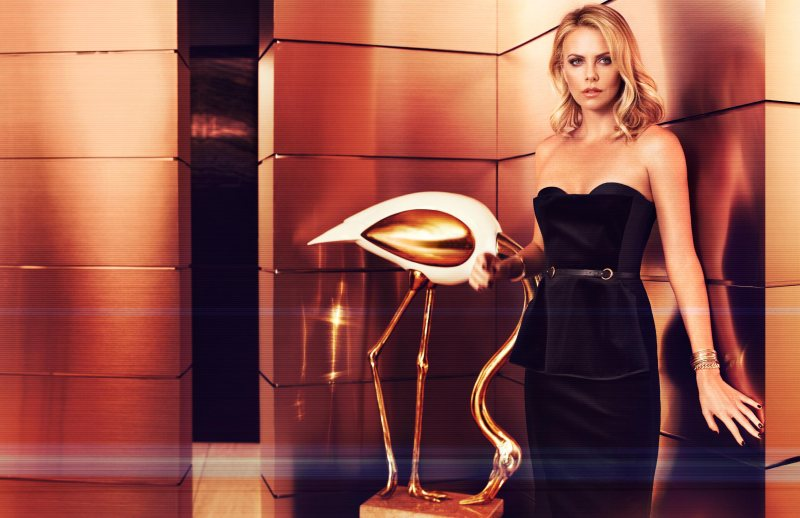 Charlize Theron Seduces for Michelangelo di Battista's June InStyle Shoot
