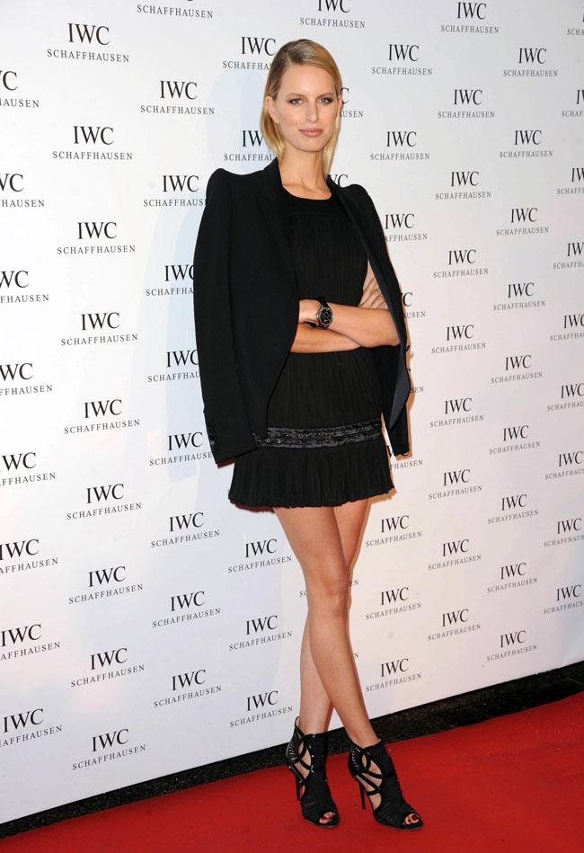 Jessica Stam in Marchesa, Irina Shayk in Roberto Cavalli, Doutzen Kroes in Versace & More Model Style