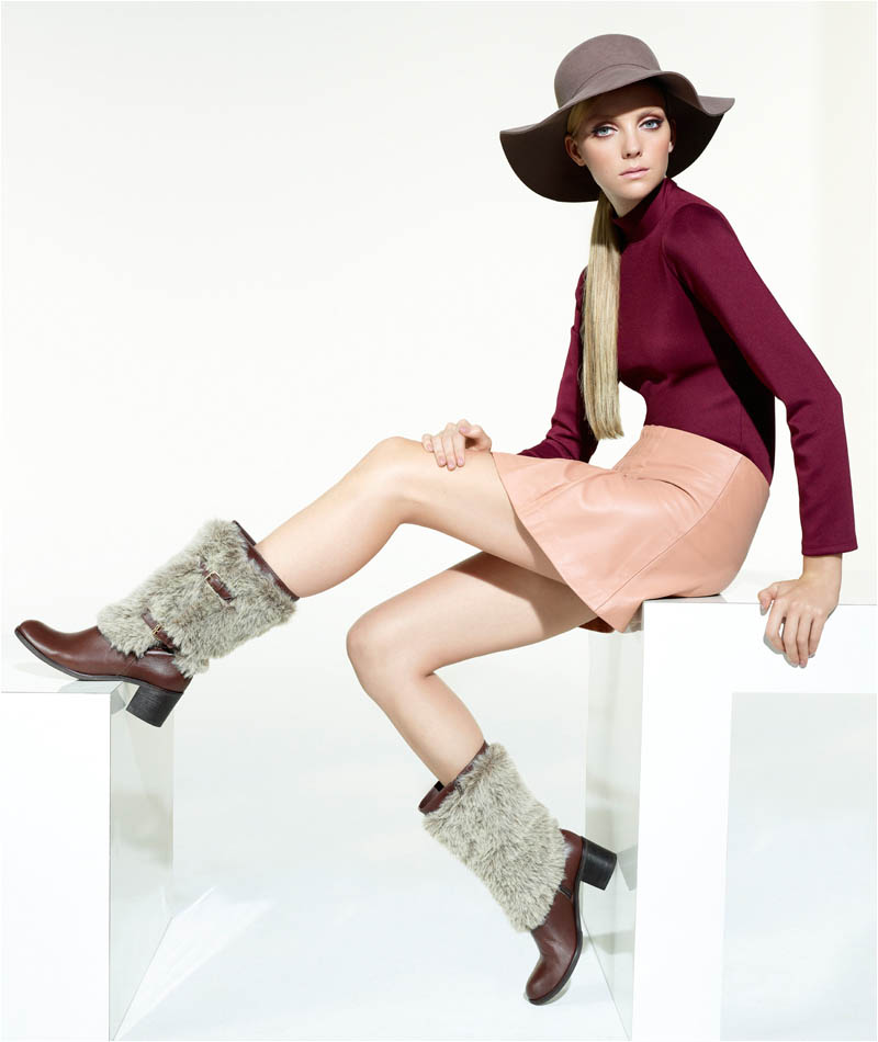 Heather Marks Goes Mod for Via Uno's Winter 2012 Campaign by Gui Paganini
