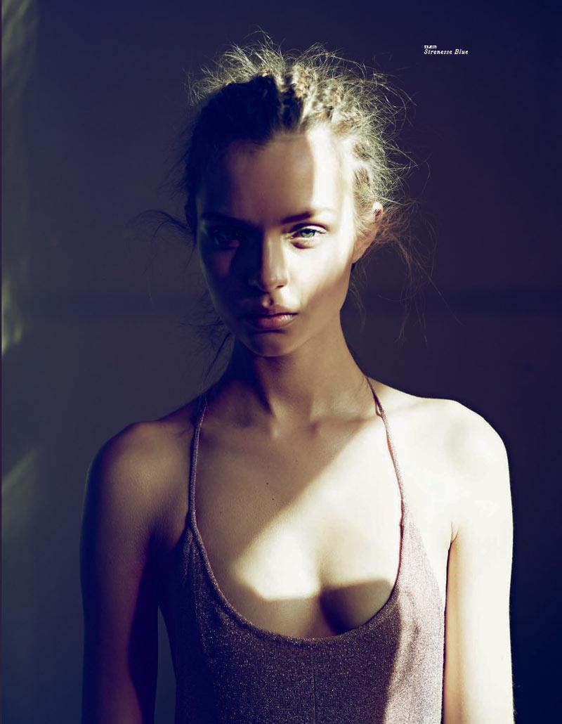 Josephine Skriver is Enchanting in Tush Summer 2012, Shot by Markus Jans
