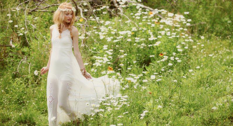 Linda Vojtova Models Free People's Dreamy, Limited Edition Summer Dresses