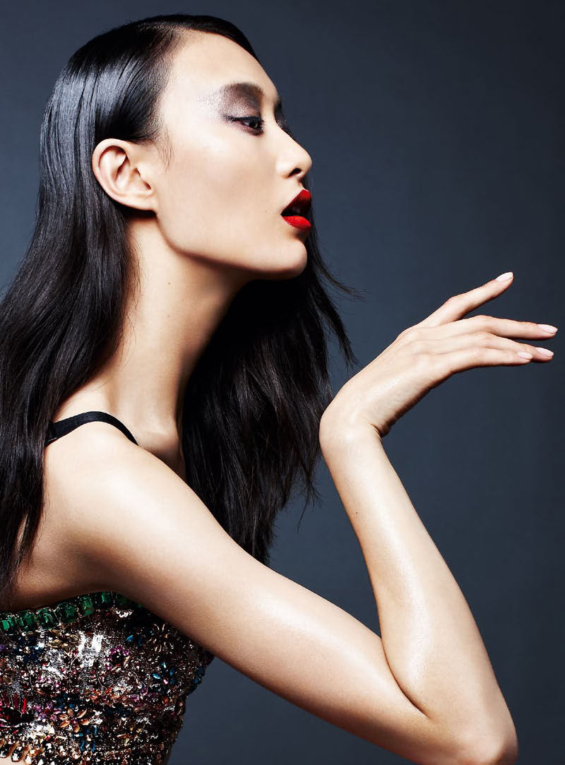 Shu Pei is Powerful in S Moda's May Cover Story, Shot by Kai Z Feng