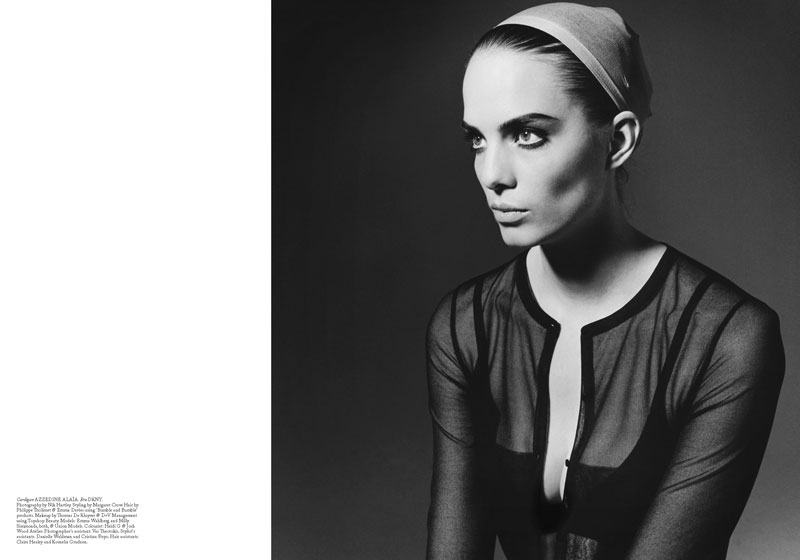 Nik Hartley Captures Milly Simmonds & Emma Wahlberg in '60s Looks for Under the Influence