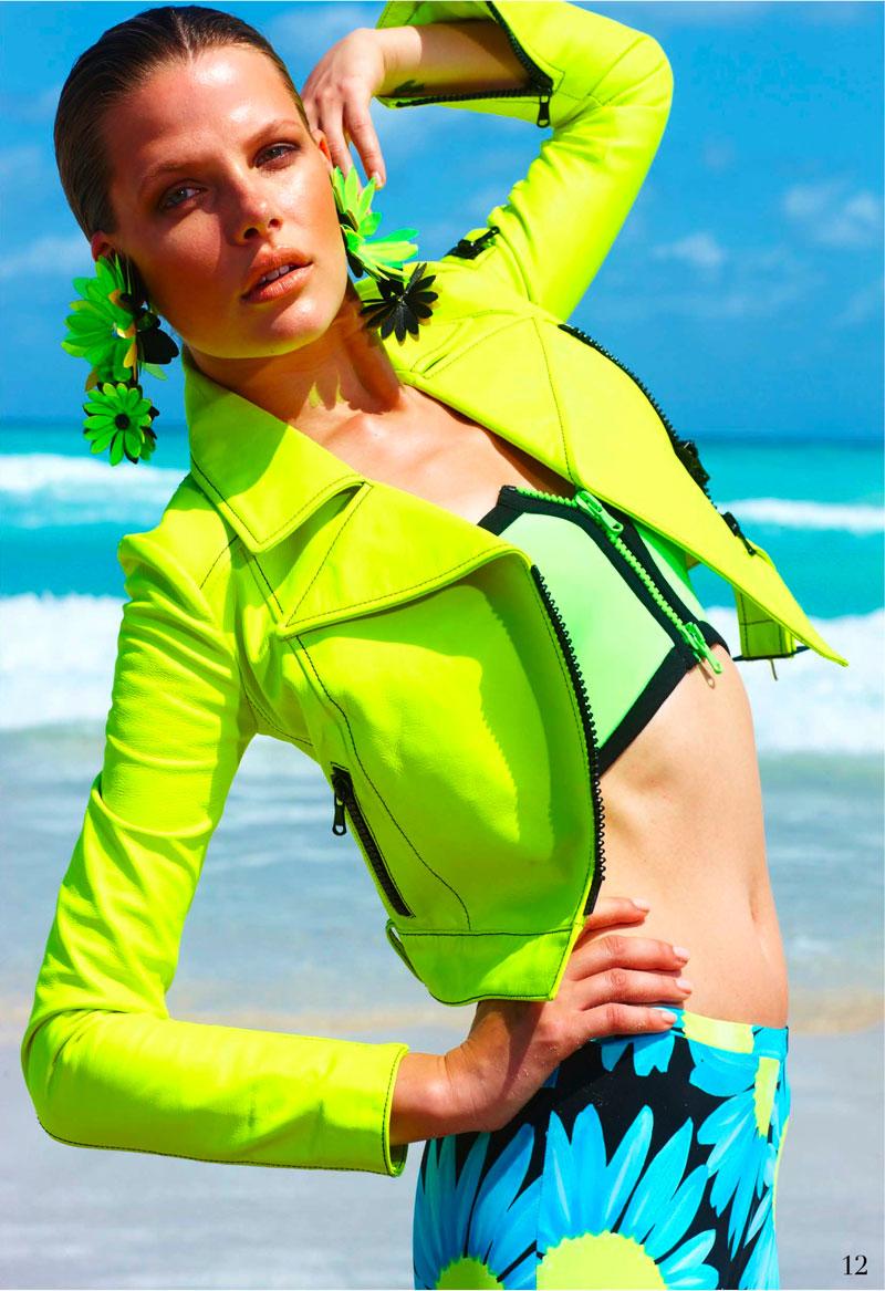 Bekah Jenkins Hits the Beach for Summer in Arnaldo Anaya-Lucca's Elle Mexico Shoot