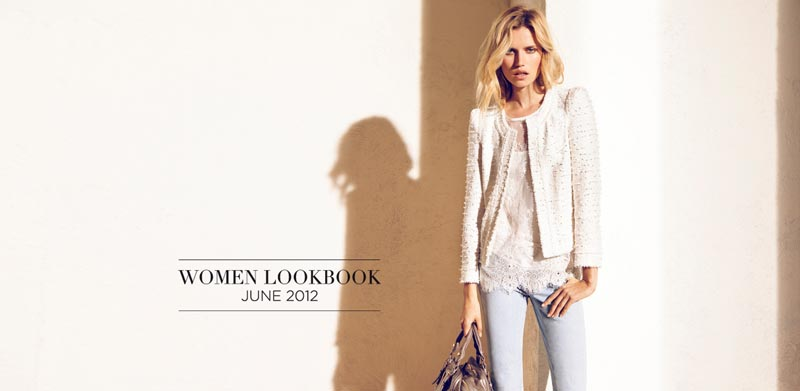 Cato Van Ee Wears Relaxed Styles in Massimo Dutti's June Lookbook