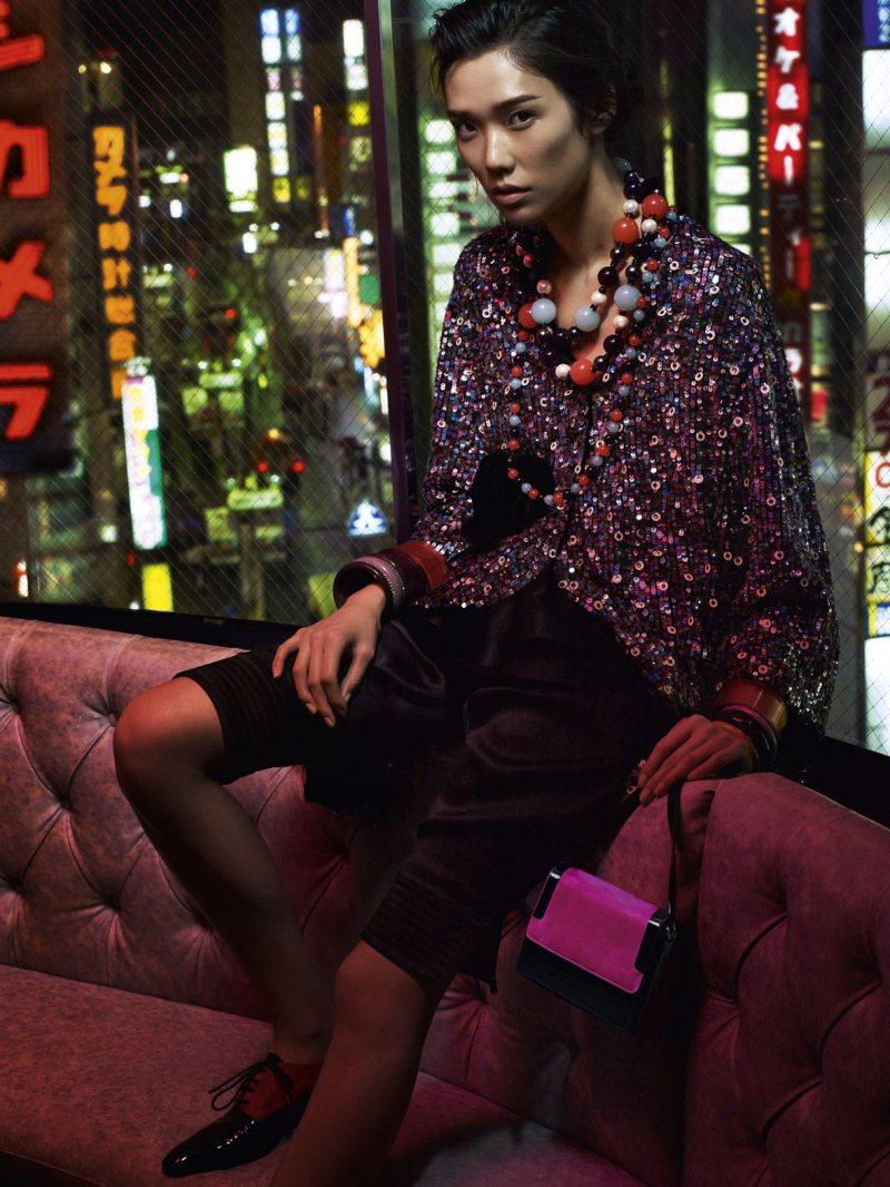 Anna de Rijk & Tao Okamoto Star in Emporio Armani's Fall 2012 Campaign by Alasdair McLellan