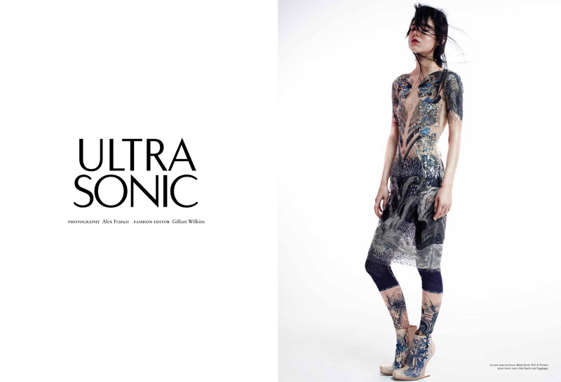 Kolfinna Kristófersdóttir is 'Ultra Sonic' for Russh's June-July Cover Shoot