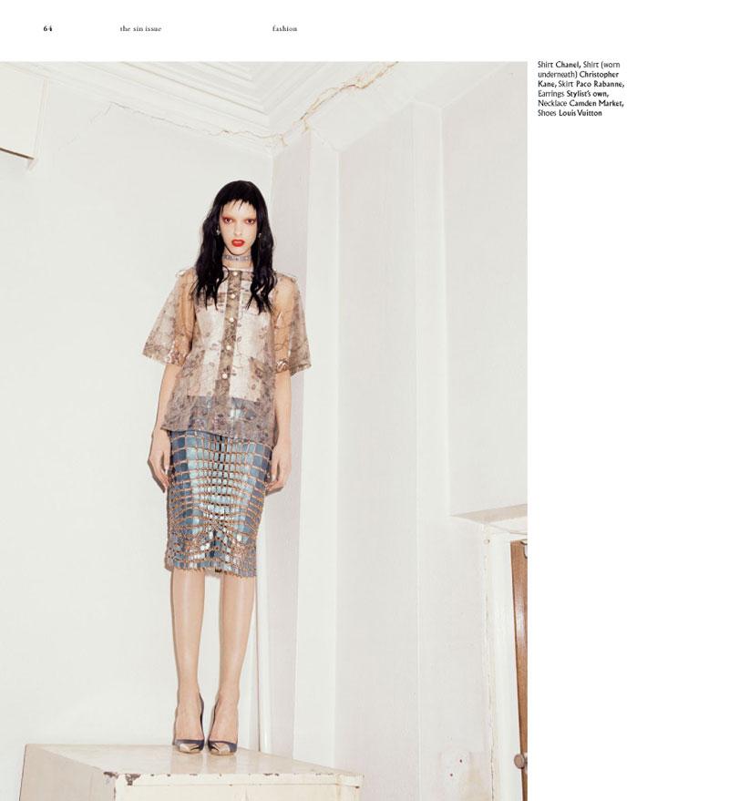 Greta Ilieva Captures Western and Punk Fashion for Bullett Magazine