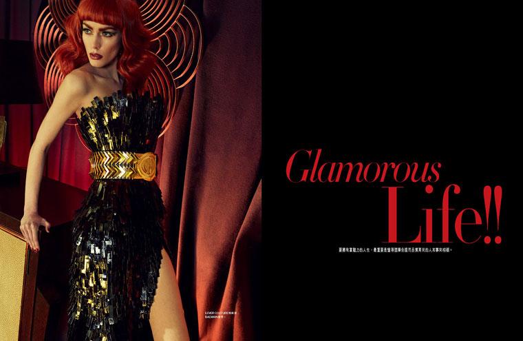 Patrycja Gardygajlo Gets Vampy for Harper's Bazaar Hong Kong June 2012