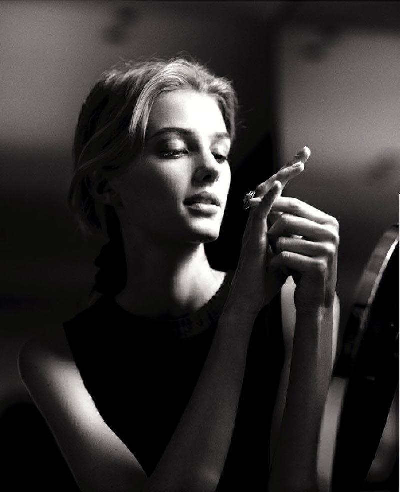 Sigrid Agren Gets Romantic for Chanel's Fine Jewelry S/S 2012 Campaign by Dominique Issermann