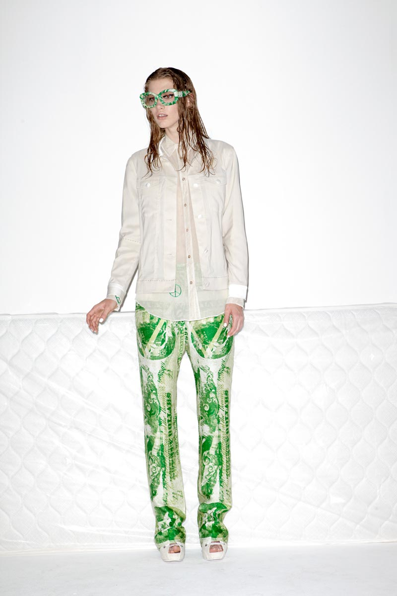 Acne's Resort 2013 Collection Offers Currency as Prints
