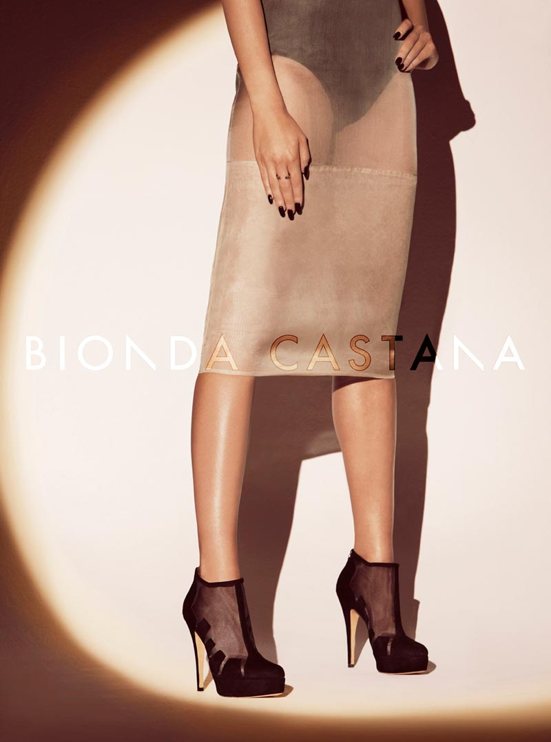 Bionda Castana's Fall 2012 Campaign Features Leggy, Femme Fatale Style