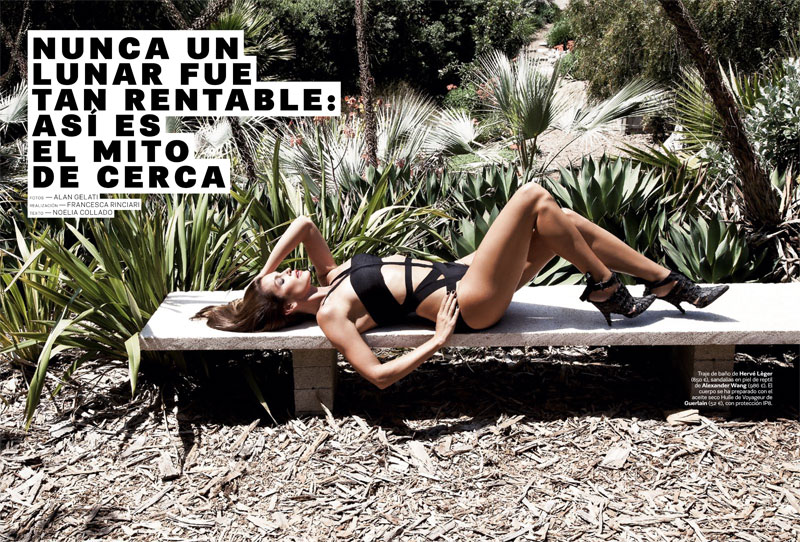 Cindy Crawford is A Glamazon in S Moda's June Cover Shoot, Shot by Alan Gelati