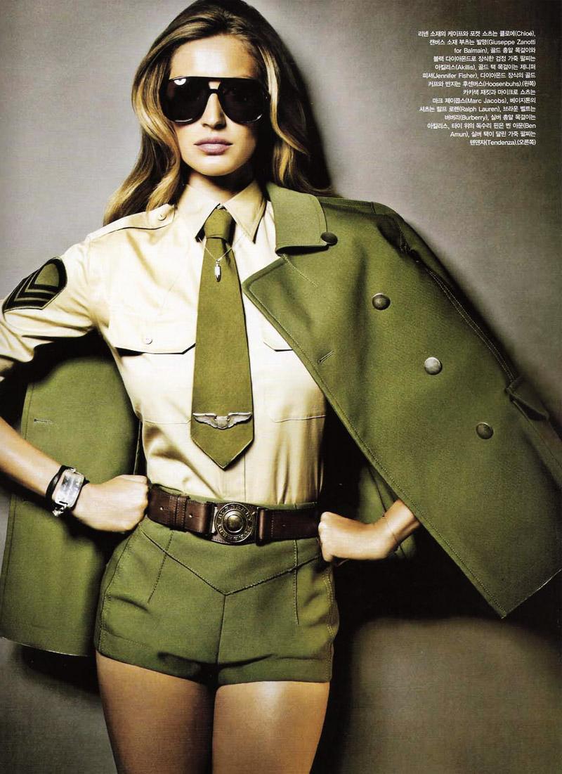 Gisele Bundchen by Nino Muñoz for Vogue Korea May 2010
